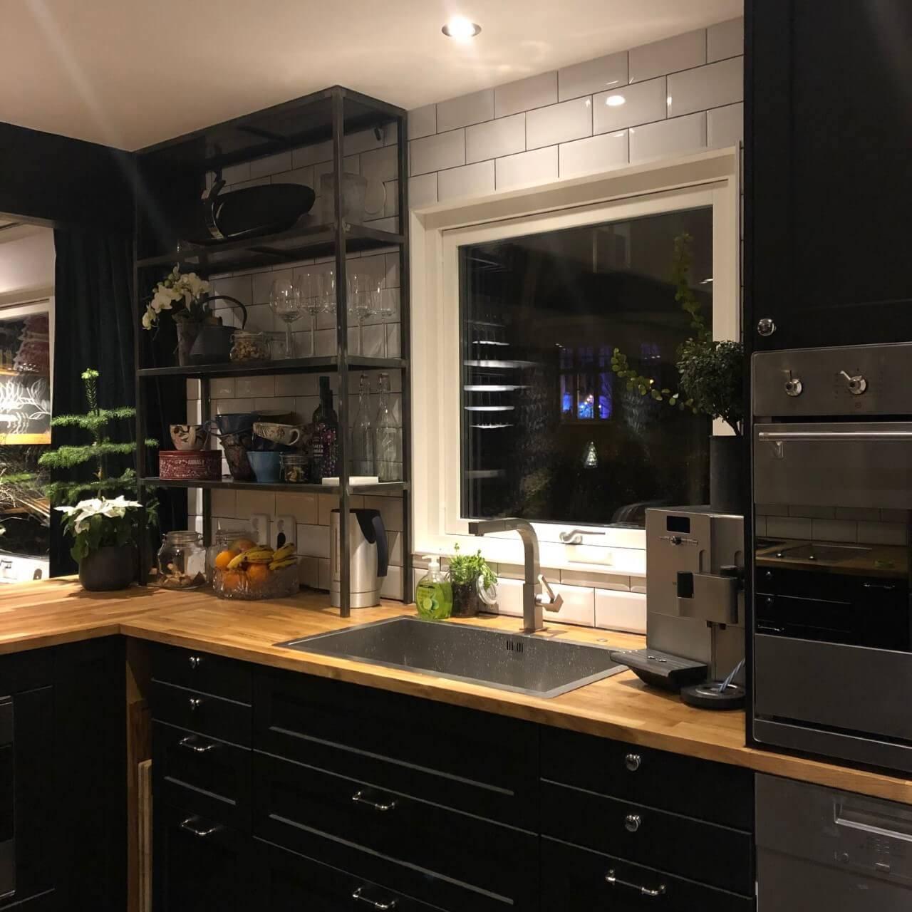 Kitchen WIth Shelf